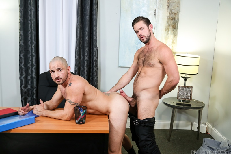 ExtraBigDicks Sexy hairy chested nude dude hunk Mike De Marko fucks Alex Torres huge hard dick ass rimming anal assplay cocksucker 001 gay porn sex gallery pics video photo - Sexy hairy chested hunk Mike De Marko fucks Alex Torres with his huge hard dick
