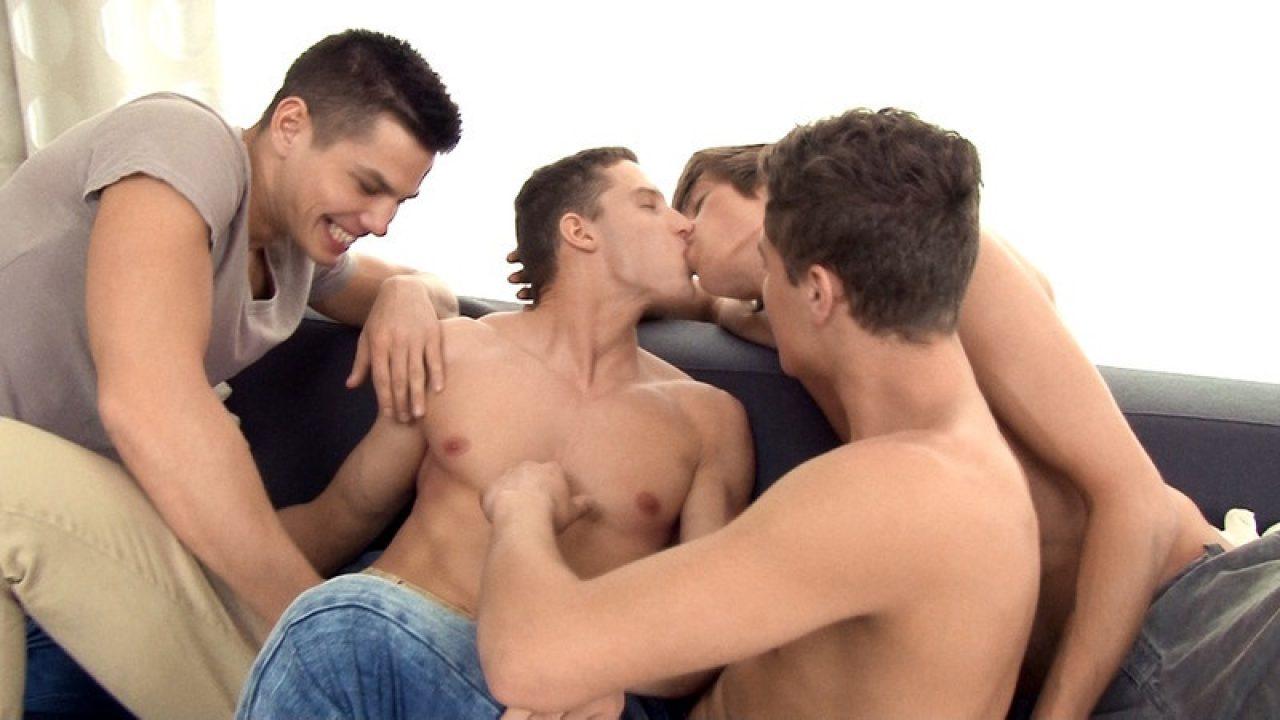 Adam Archuleta Porn Videos freshmen bareback orgy jon kael, helmut huxley, dylan