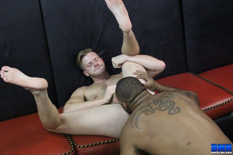 BreedMeRaw interracial gay ass fucking slut bottom Brian Bonds anal Ray Diesel huge 10 inch black dick deep throat rimming cocksucker 001 gay porn sex gallery pics video photo - Slut bottom Brian Bonds submits to Ray Diesel's huge 10 inch black dick