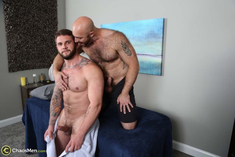 ChaosMen sexy hairy chested naked hunk Tatum Parks bare fucks Ronin tight muscled asshole anal rimming big dick cocksucking 001 gay porn sex gallery pics video photo - Hairy chested hunk Tatum Parks bare fucks Ronin's tight muscled asshole