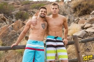 SeanCody Sean Cody Brysen Nixon deep bareback anal ass fucking ripped young muscle hunks straight men sucking cock anal fucking 002 gay porn sex gallery pics video photo 300x200 - Like Em Straight Hamilton gets his ass rimmed by Brendon