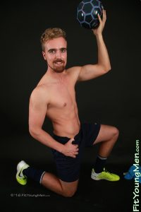 FitYoungMen straight naked sportsman dude 23 year old footballer Jamie Gleeson strips footie kit jerks huge uncut dick 002 gay porn sex gallery pics video photo 200x300 - Cody Cummings slowly and with power jerks his fat swollen dick