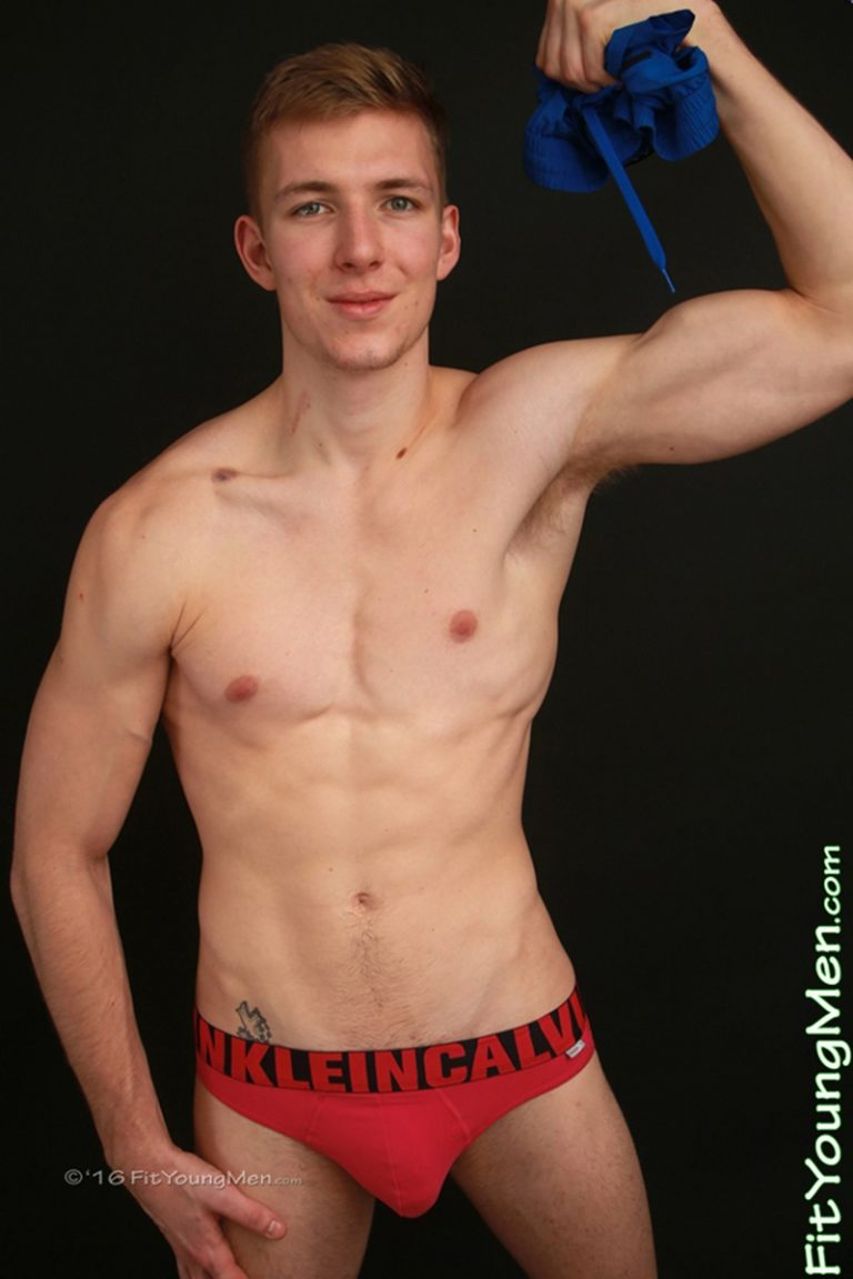 FitYoungMen sexy naked sportsman Christian Sterling 19 years old Straight big thick uncut cock underwear undies crotch bulge 002 gay porn sex gallery pics video photo 768x1152 - Ripped young sportsman Christian Sterling strips down to his sexy underwear