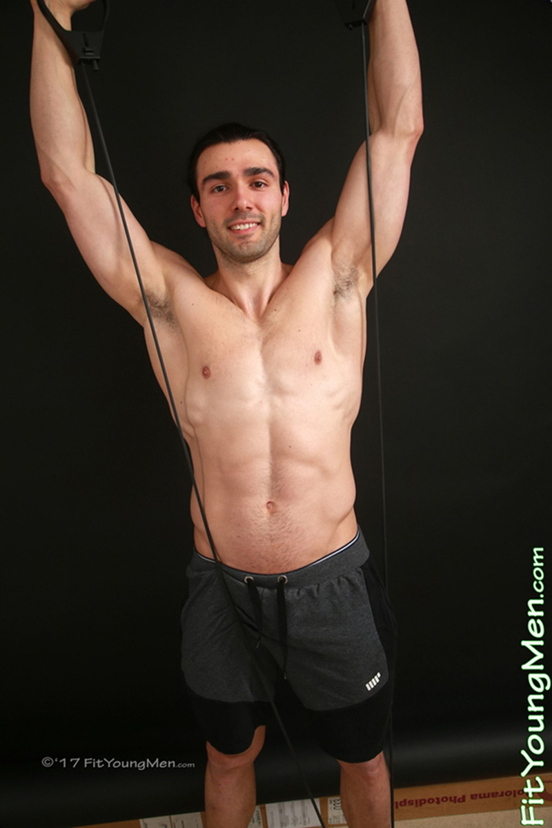 FitYoungMen sexy ripped six pack abs naked muscle dude Andon Samson smooth chest underwear men bubble butt asshole 003 gay porn sex gallery pics video photo - Ripped young muscle dude Andon Samson strips down to his sexy underwear
