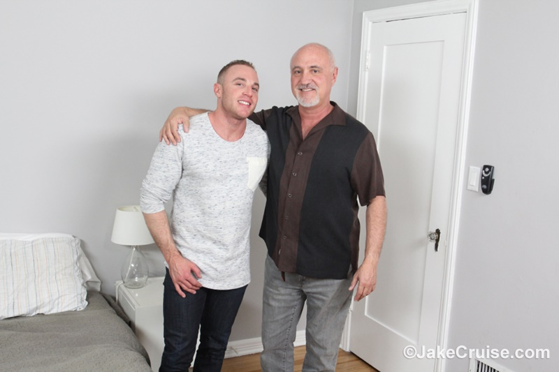 JakeCruise sexy young naked dude Jacob Durham big cock serviced older men mature Jake Cruise large thick dick cocksucker 002 gay porn sex gallery pics video photo - Jacob Durham's big cock serviced by Jake Cruise