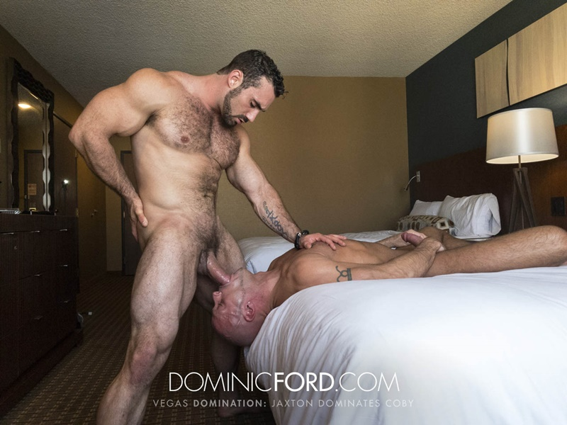 DominicFord Masculine muscular hairy hung aggressive Jaxton Wheeler dominates Coby Mitchell asshole big thick large dick sucking 001 gay porn sex gallery pics video photo - Masculine muscular hairy hung and aggressive Jaxton Wheeler dominates Coby Mitchell's asshole