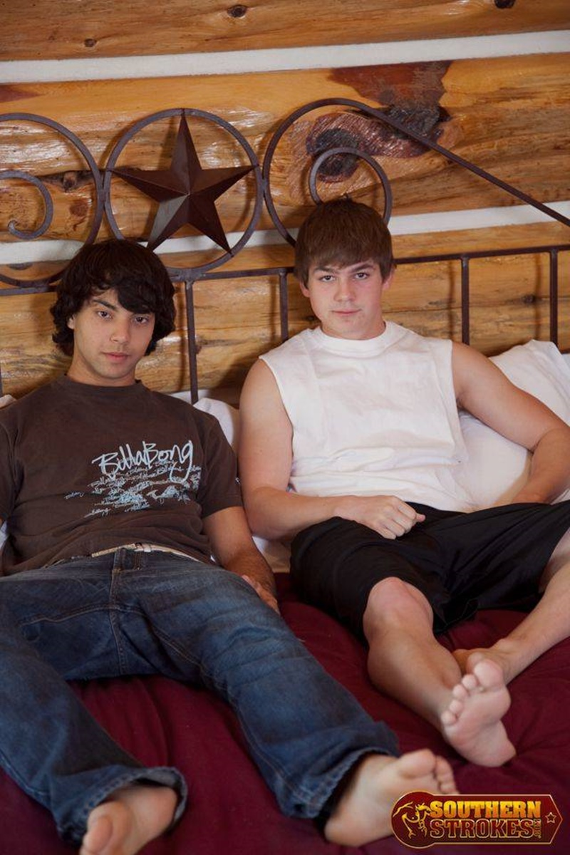 SouthernStrokes sexy young nude dudes Colt fucks Brandon bottom boy fucked straight boy big cock ass hole pussy 002 gay porn sex gallery pics video photo - Southern Strokes Colt fucks Brandon turning him into an instant pillow biter