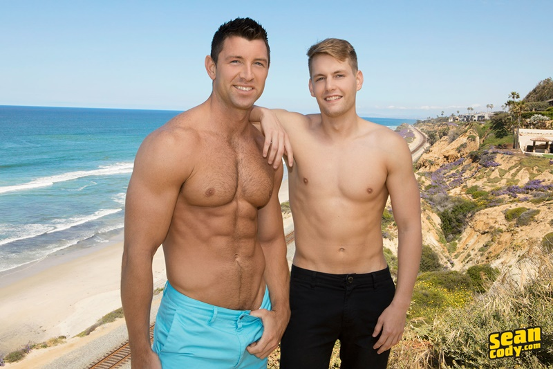 SeanCody bareback raw big bare dock Conrad ass man barebacking Shaw tight bubble butt cocksucker muscle men anal assplay 001 gay porn sex gallery pics video photo - Conrad is an ass man so he's pretty damn happy to be barebacking with Shaw's tight bubble butt