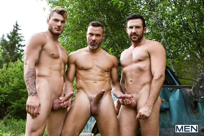 Men sexy hot naked nude muscle dudes William Seed threesome Jessy Bernardo fucking Manuel Skye jacking off orgasm big thick dicks 008 gay porn sex gallery pics video photo - William Seed and Jessy Bernardo catch Manuel Skye jacking off to them fucking