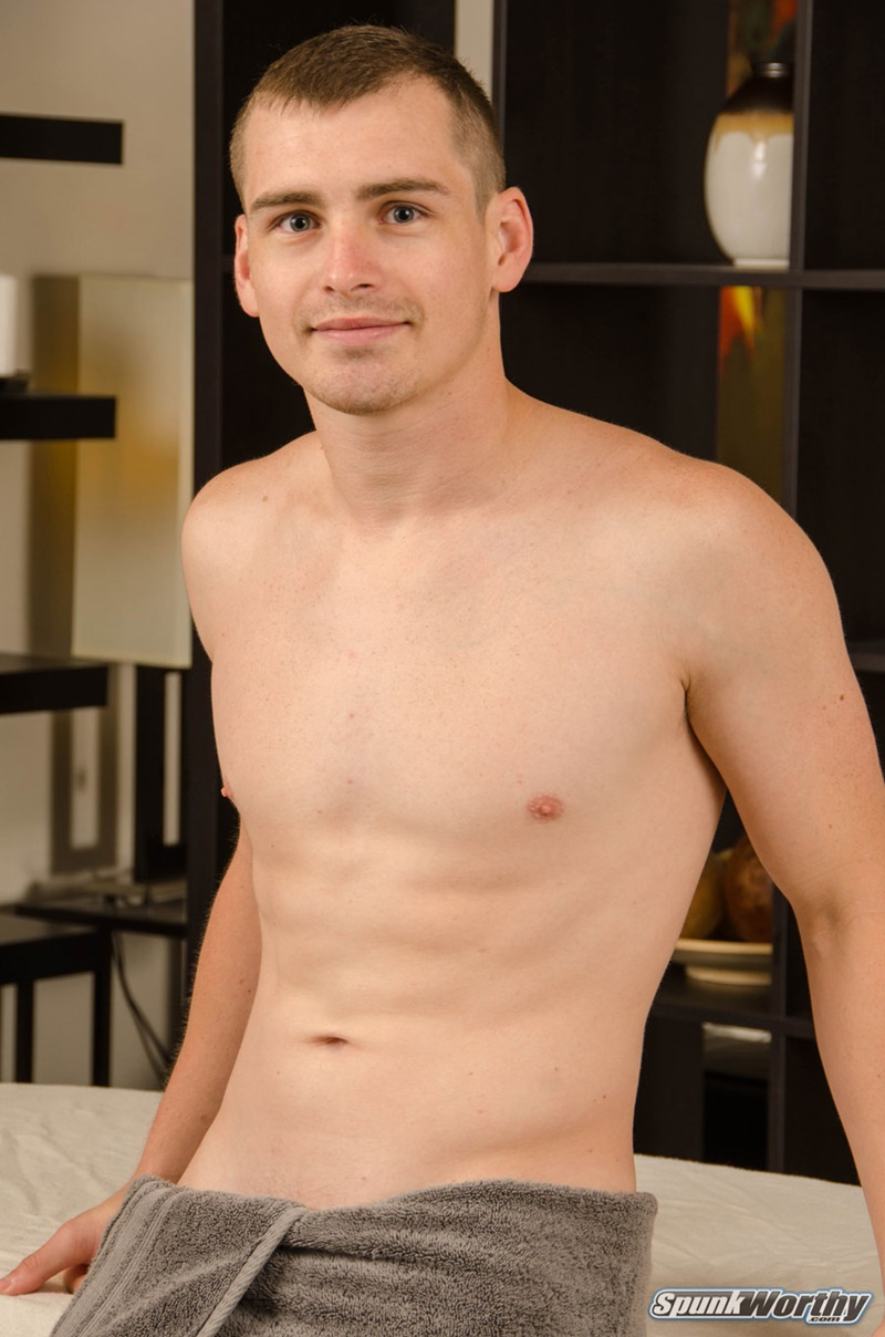 Spunkworthy Hot straight dude Oren happy ending massage gay for pay first time man blowjob smooth chest bubble ass cheeks 002 gay porn sex gallery pics video photo - Hot straight dude Oren's happy ending massage