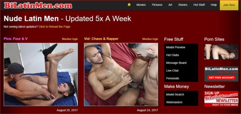 MyGayPornList BiLatinMen GayPornSiteReview 5 Stars 001 gay porn sex gallery pics video photo 1 768x366 - Bi Latin Men gay porn site 5 star review