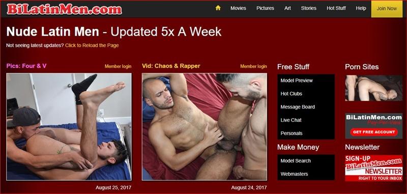 MyGayPornList BiLatinMen GayPornSiteReview 5 Stars 001 gay porn sex gallery pics video photo 1 - Bi Latin Men gay porn site 5 star review