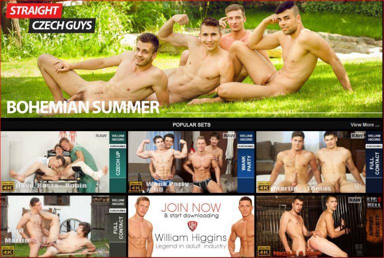WilliamHigginsGayPornReview 768x515 - Gay porn site William Higgins wins 5 star review