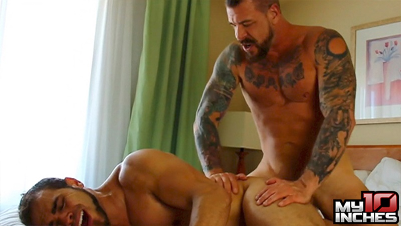 My10TenInches gay porn star nude dude sex pics Brock Avery Rocco Steele monster 10 inch cock butt fucking anal rimming 012 gay porn sex gallery pics video photo - Brock Avery screams like never has before as Rocco Steele works his monster 10 inch cock inside his butt