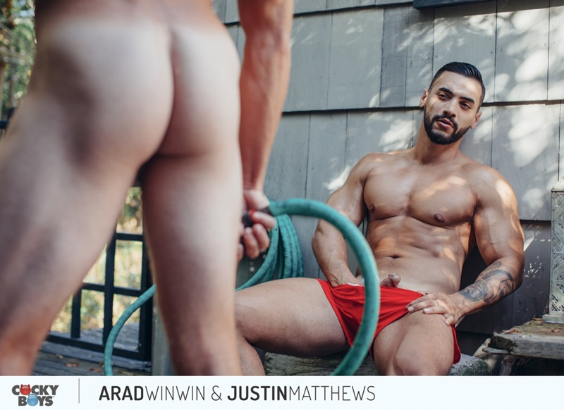 Cockyboys gay porn hot stars anal fucking rimming sex pics Justin Matthews Arad Winwin huge hard cock ass cheeks 001 gay porn sex gallery pics video photo - Justin Matthews can feel Arad Winwin's huge hard cock against his ass cheeks