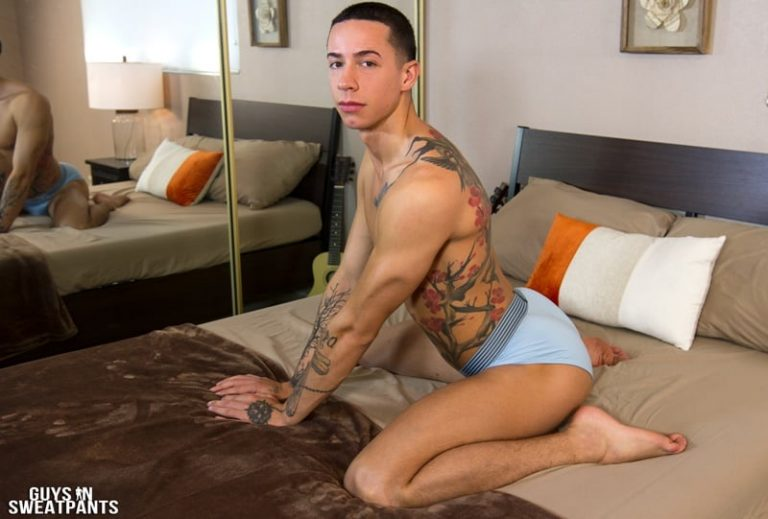 GuysinSweatpants gay porn long football socks Bottom boy rough sex pics Vincent top guy Judas big thick dick sucking 002 gallery video photo 768x519 - Bottom boy Vincent loves getting roughed up while fucked by top guy Judas