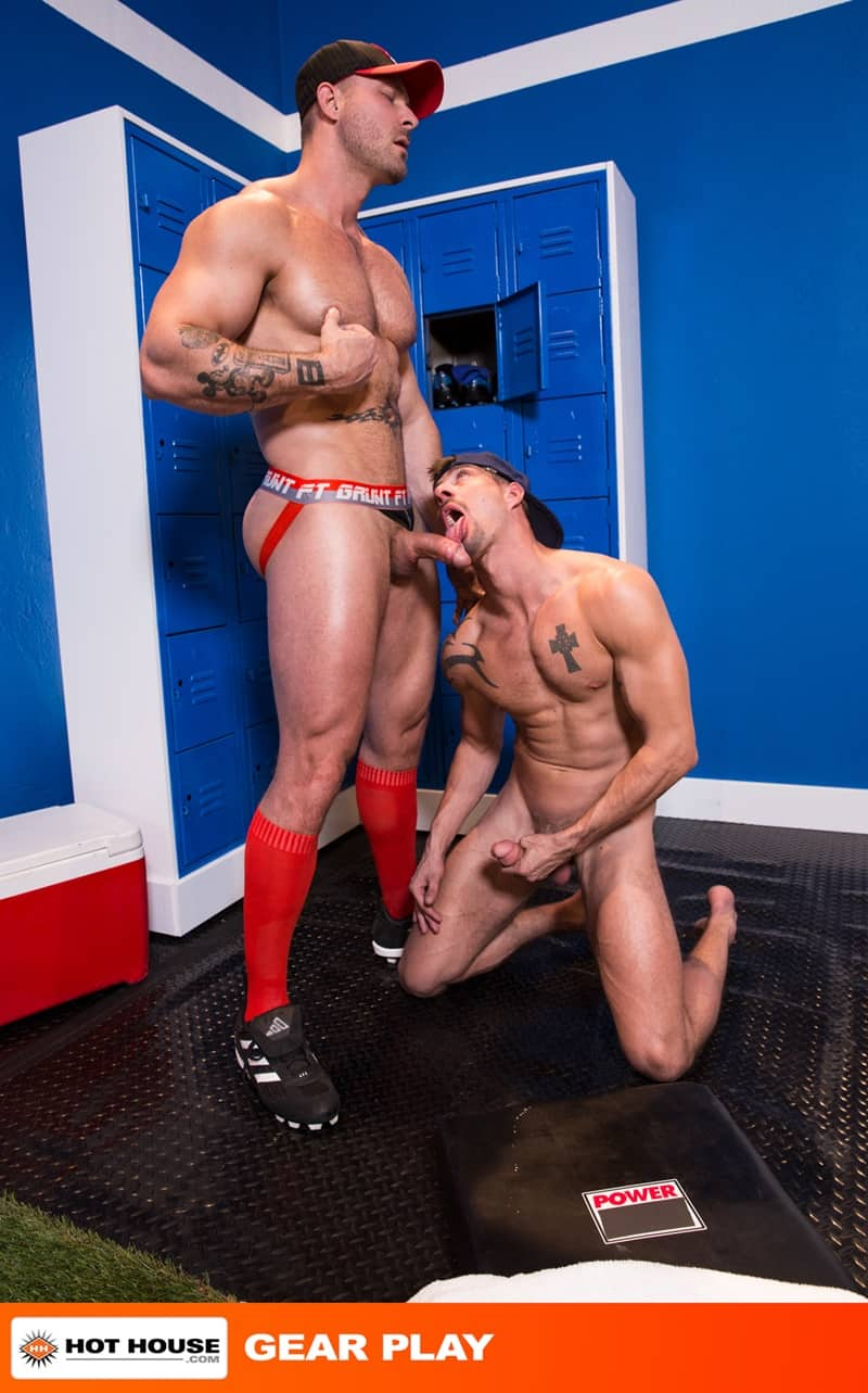 Hothouse gay porn naked sportsmen big muscle hunks sports kit sex pics Austin Wolf Sean Maygers tight asshole 001 gallery video photo - Austin Wolf enters Sean Maygers' tight asshole with his huge dick for a rough and constant fucking