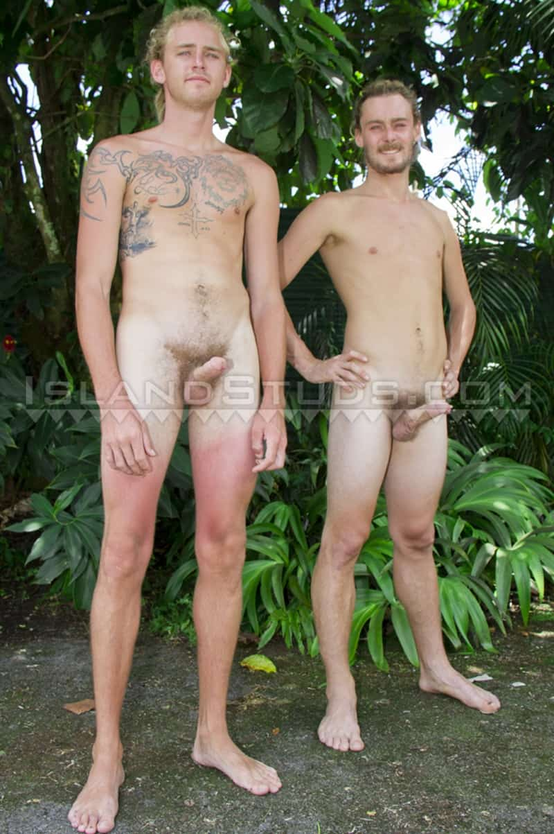 IslandStuds gay porn straight hung blond hippy farmer brothers sex pics Christian Josh Snowboarder Tree 001 gallery video photo - Hung blond hippy farmer bros Christian Josh and Snowboarder Tree are back in hot duo action