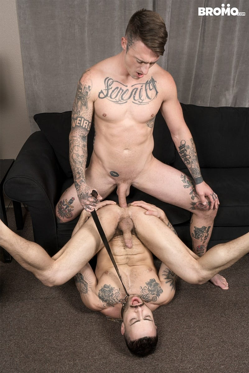 Bromo gay porn tattoo big dick hot naked muscle hunks sex pics Carlos Lindo Dane Stewart big cum load 019 gallery video photo - Tattooed muscle hunks Carlos Lindo as he begs for a sip of Dane Stewart's frothy big cum load