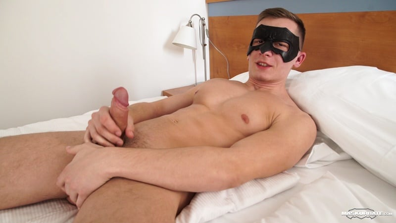 Maskurbate gay porn Hot young muscle dude jerks huge cock massive cumshot sex pics Andy 001 gallery video photo - Hot young muscle dude Andy jerks his huge cock to a massive cumshot