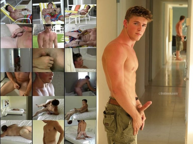 Fratmen Aaron Close Up 001 gay porn pictures gallery 768x576 - Top 100 All American Fratmen 100 to 91