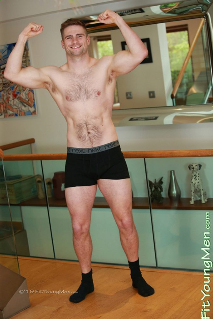 Gay Porn Pics 001 FitYoungMen Ripped young Rugger dude Rowan Marshall stripped naked uncut cock 683x1024 - Rugby Player Rowan Marshall