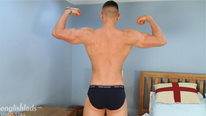 Gay Porn Pics 009 MMA Fighter footballer Adrien Wilson ripped body beautiful big uncut dick EnglishLads - Adrien Wilson