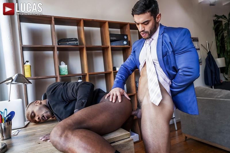 Gay Porn Pics 014 LucasEntertainment Arad Winwin bare fucks Andre Donovan hot virgin asshole massive dick - Arad Winwin, Andre Donovan