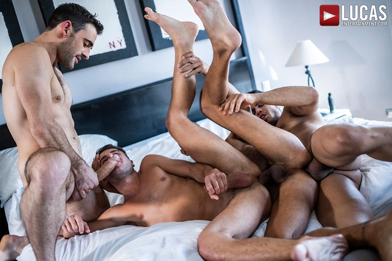 Rico Marlon Max Avila Max Arion Allen King bareback ass fucking orgy LucasEntertainment 025 Gay Porn Pics - Max Arion, Allen King, Rico Marlon, Max Avila