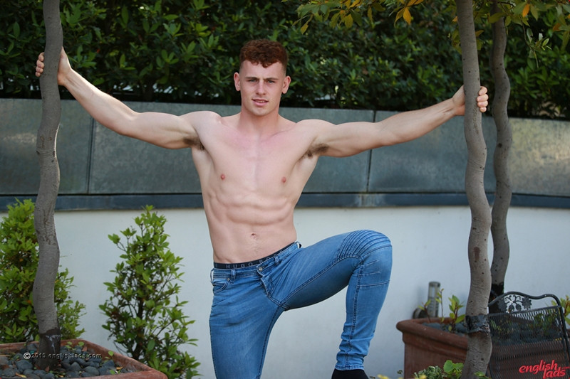 Straight young dude Tom Stevens strips sexy undies wanking huge cum load EnglishLads 003 Gay Porn Pics - Tom Stevens