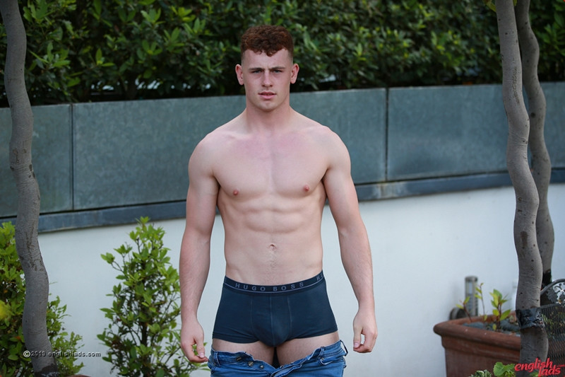 Straight young dude Tom Stevens strips sexy undies wanking huge cum load EnglishLads 005 Gay Porn Pics - Tom Stevens