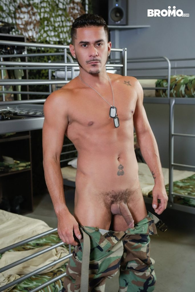 John Rene massive dick fucking Cesar Xes hot bubble butt hole Bromo 008 Gay Porn Pics 683x1024 - Cesar Xes, John Rene