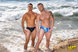 Sexy muscle dude Lachlan huge raw dick bareback fucks Sean hot bubble butt ass hole SeanCody 001 Gay Porn Pics 300x200 - Joe Parker, Nick Milani