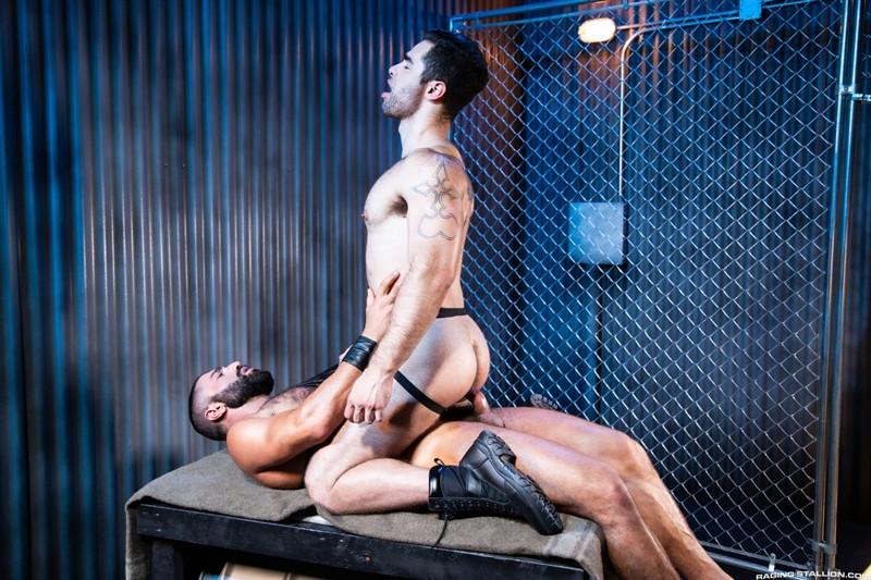 Sharok barebacking big bare cock moaning stud Lucas Leon RagingStallion 012 Gay Porn Pics - Lucas Leon, Sharok