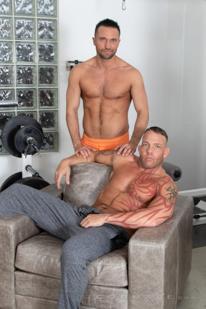 Tristan Brazer fucks Colby Tucker hot ass hole balls explode IconMale 003 Gay Porn Pics 682x1024 - Colby Tucker, Tristan Brazer
