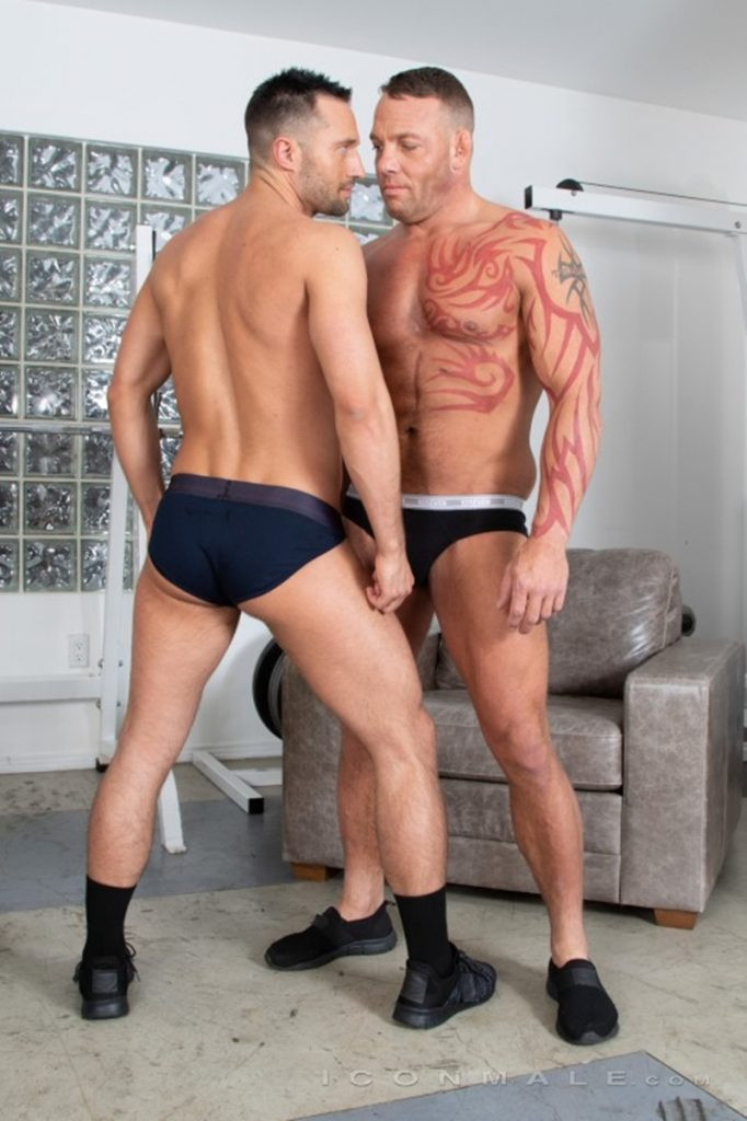 Tristan Brazer fucks Colby Tucker hot ass hole balls explode IconMale 007 Gay Porn Pics 682x1024 - Colby Tucker, Tristan Brazer