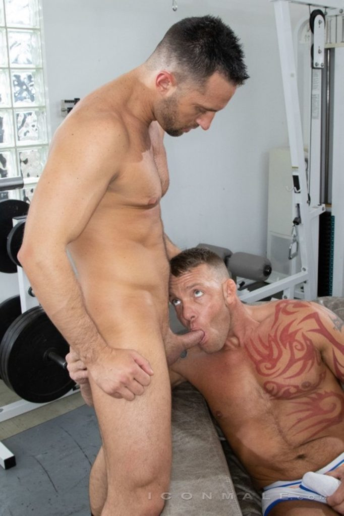 Tristan Brazer fucks Colby Tucker hot ass hole balls explode IconMale 015 Gay Porn Pics 682x1024 - Colby Tucker, Tristan Brazer