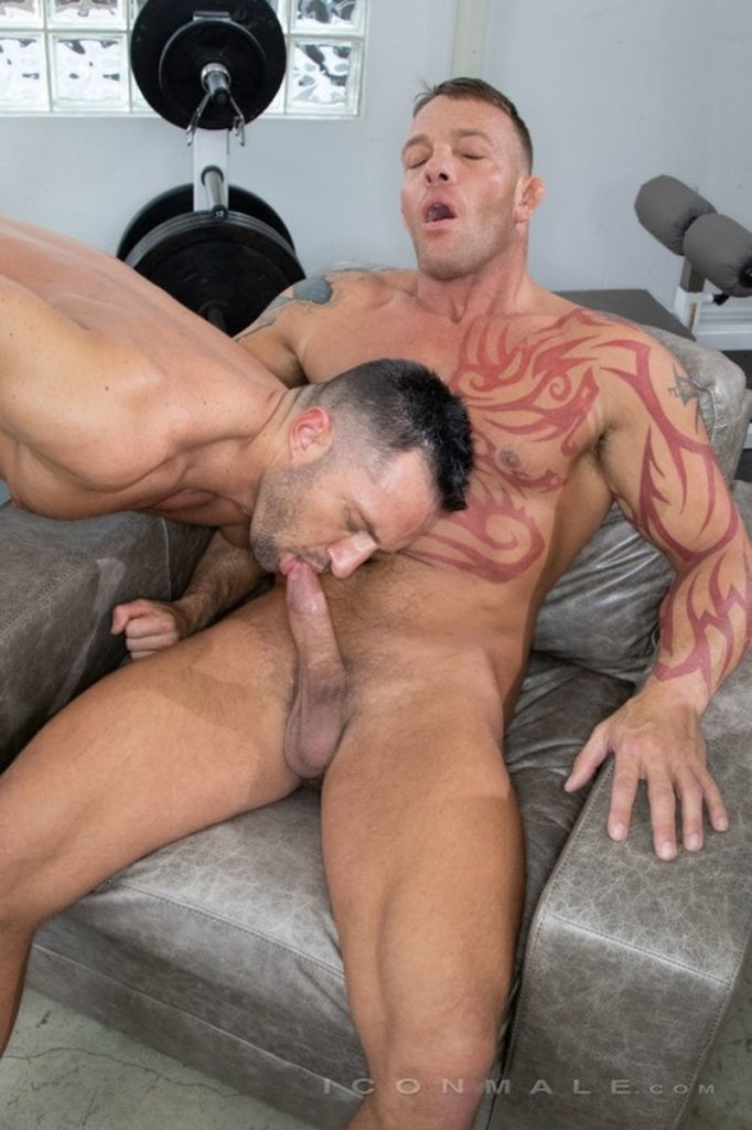 Tristan Brazer fucks Colby Tucker hot ass hole balls explode IconMale 016 Gay Porn Pics 682x1024 - Colby Tucker, Tristan Brazer