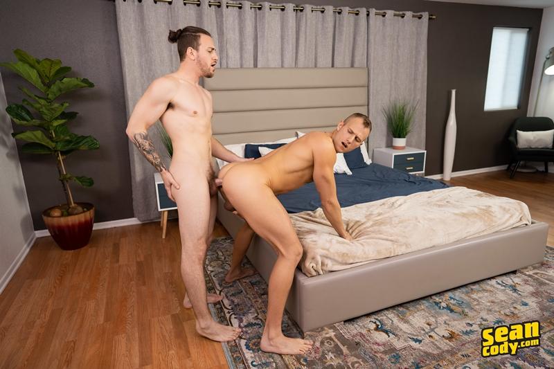 Blonde muscle stud Blake tight asshole bare fucked Rowan huge bare dick Sean Cody 018 gay porn pics - Sean Cody Rowan, Sean Cody Blake