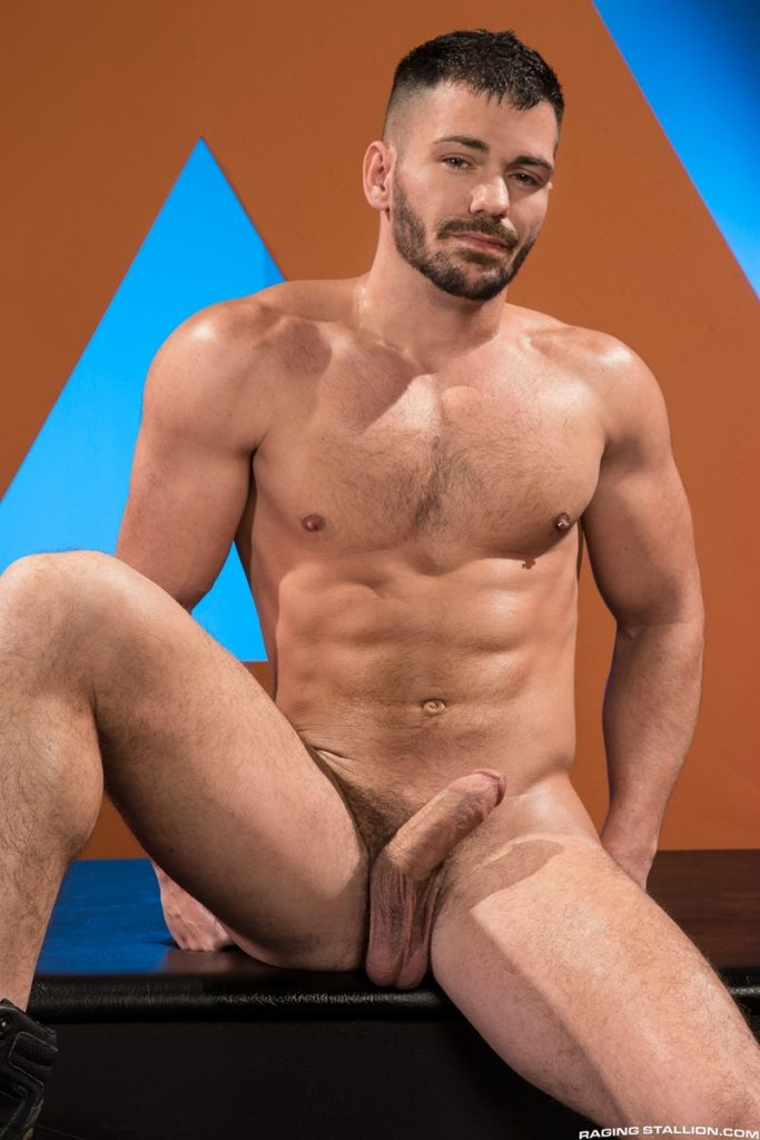 Brogan Reed Sebastian Kross big cock balls deep fucking Raging Stallion 005 gay porn pics 683x1024 1 - Brogan Reed, Sebastian Kross