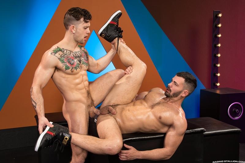Brogan Reed Sebastian Kross big cock balls deep fucking Raging Stallion 013 gay porn pics - Brogan Reed, Sebastian Kross