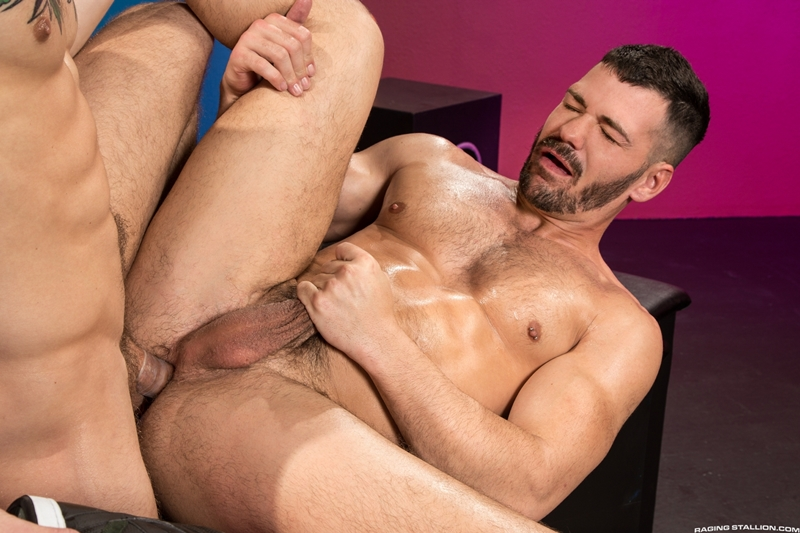 Brogan Reed Sebastian Kross big cock balls deep fucking Raging Stallion 015 gay porn pics - Brogan Reed, Sebastian Kross