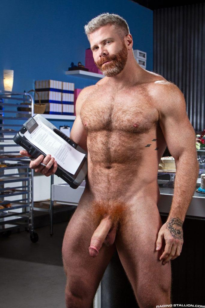 Cain Marko hairy bubble ass balls deep fucking Wade Wolfgar big dick Raging Stallion 008 gay porn pics 683x1024 1 - Wade Wolfgar, Cain Marko