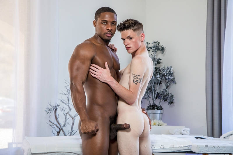 Hot young boy Avery Jones tight ass bare fucked hard DeAngelo Jackson huge black dick Icon Male 010 gay porn pics - DeAngelo Jackson, Avery Jones
