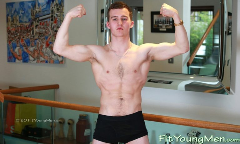 Hottie football player Oscar Harrison wanks big straight dick cums ripped abs Fit Young Men 001 gay porn pics 768x462 - Oscar Harrison
