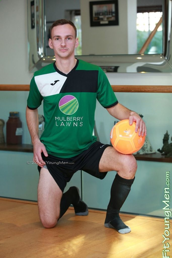 Smooth young straight soccer player Jamie Sherringham naked jerking huge uncut cock Fit Young Men 001 gay porn pics 683x1024 1 - Jamie Sherringham
